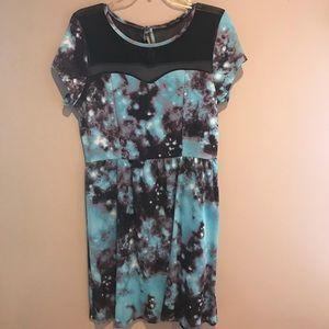 NWT ModCloth galaxy dress